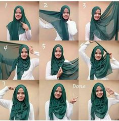 Tutorial Hijab Segi 4