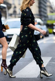 Jumpsuits are the super chic all-in-one outfit.