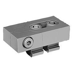 Plot de blocage :  se prêtent, de par leur construction basse, à l'usinage de pièces de dimensions variables // Low-profile clamps :  ideal for machining most workpiece sizes // REF 04450