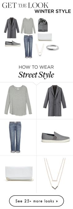 """""""City Street Style"""" by allisonhong on Polyvore featuring Paige Denim, GUESS, Vince, Michael Kors, Ippolita, women's clothing, women's fashion, women, female and woman"""