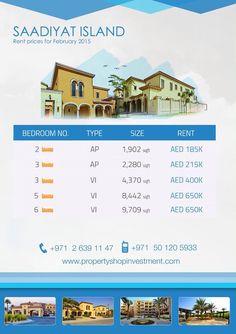 Starting prices for January in #Saadiyat Abu-Dhabi !  #AbuDhabi #startingprices #LovePsi