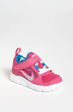 Nike 'Free Run 3' Sneaker (Baby, Walker, Toddler & Little Kid) available at #Nordstrom