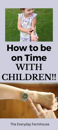 It is possible to get there on time, even with children.  Here are some tips to help you out! #timemanagement #children #travel