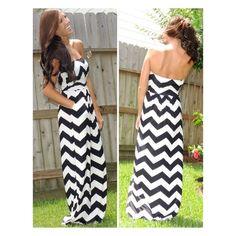 Zigzag Jersey Dress