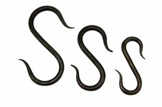 """Hand Forged Game/Meat Hooks 3""""-6"""" £4.25"""