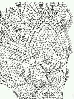 Pineapple doily