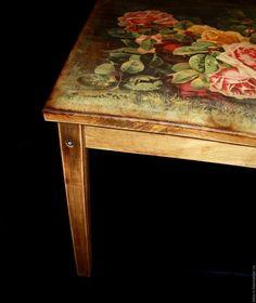 Старенький журнальный столик - Ярмарка Мастеров - ручная работа, handmade