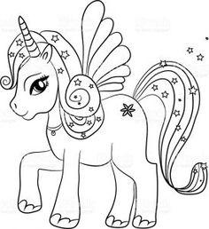 11 Imágenes Fascinantes De Unicornios Para Pintar Coloring Books