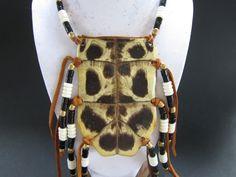 Turtle Shell & Buffalo Bone Breastplate  by rainbownativetraders, $45.99