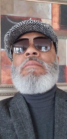 Hot Beards, Black Men Beards, Fashion For Men Over 50, Older Mens Fashion, Growing Facial Hair, Beard Designs, Beard Game, Beard Look, Beards