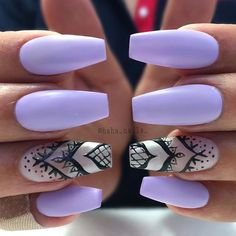We spent forever shaping these #mattenails to make sure they were …