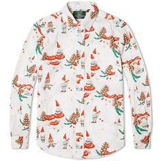 The festive shirt: Gitman Vintage x End Christmas shirts