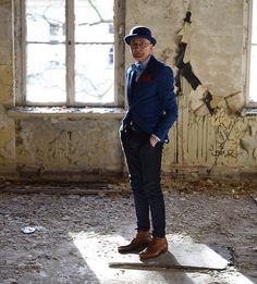 Want to follow someone to take inspiration from? Check out Günter @g.krabbenhoft Very happy I found him on here. #tuckedin #sprezzatura #socksup #socks #shirt #menswear #mensstyle #menwithstyle #mensstylefashion #soholifestyle #pitti #sharp #dapperstyle #dapper #stylish #suspenders #gentlemen #madeinuk #madeinengland #nopants #beboldlifestyle #dapperscen #ig_fashionblog #suituptime #wedding #groom #groominspiration #thestylestack by sharpanddapper