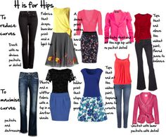 Inside Out Style: She breaks down body types into 7 categories and explains how they can change as we get older, put on/lose weight, or have kids - as well as fashion tips for dressing for our type.using pictures of Real women. Fashion Advice, Fashion Outfits, Womens Fashion, Fashion Trends, Fashion Guide, 80s Fashion, Fashion Bloggers, Pear Shape Fashion, Looks Style