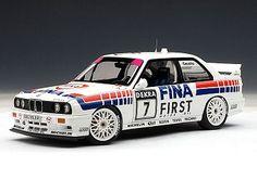 BMW E30 M3 DTM 1992 Fina C.Cecotto #7 1/18 - AUTOart Diecast Models