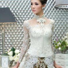 Model Kebaya Pengantin Syar I Pakaian Wanita Model Kebaya