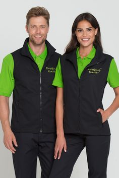 The men's vest with its athletic look is suitable for every occation and all working areas. It has a slightly tailored fit, a durable full length zipper and side pockets with zippers. Made from a high-grade, easy-care and soft mixed fabric.