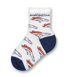 Cute Baby Broncos Socks!