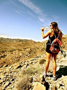 IES Abroad Photo of the Day: Cabo de Gata Hike www.studyabroadphoto.org #granada #spain #cabodegata #travel #studyabroad