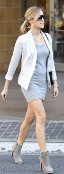 Shoes - Christian Louboutin Dress - Souchi jacket - Gap Purse - Marc Jacobs cheaper style dress