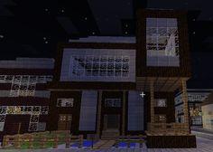 M s de 1000 ideas sobre casas minecraft en pinterest for Mirote y blancana casa moderna
