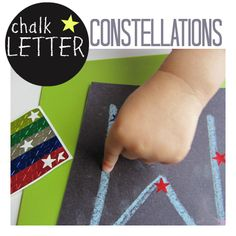 Chalk Letter Constellations