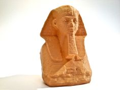 Head and Shoulders of a Sphinx of Hatshepsut - Date: ca. 1473 B.C - Digitized: June 1 2012 - #Made: June 6 2012