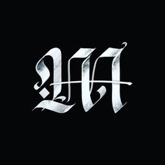 Gothic Lettering, Graffiti Lettering Fonts, Tattoo Lettering Fonts, Hand Lettering Alphabet, Creative Lettering, Typography Fonts, Graphic Design Typography, Lettering Design, Calligraphy Types