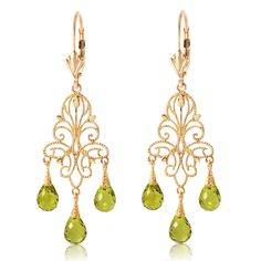 Peridot chandelier earrings handcrafted in solid 9 carat gold. Size: x 2 in x 39 mm) per earring. Presented in a soft hinged black English velvet gift box, and sent in discreet outer packaging. Peridot Earrings, Dangle Earrings, Rose Gold Earrings, Gold Chandelier Earrings, Peridot Stone, Types Of Gemstones, Carat Gold, Or Rose, Gemstone Jewelry
