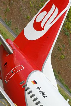Air Berlin - D-ABKA tail by Andrew_Simpson, via Flickr