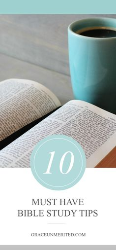 Bible reading tips