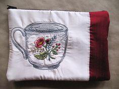 Breakfast Teacup purse 2010 by Tara Badcock, via Flickr