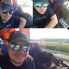 "Pues para Lucus Augusti fuimos ayer... (nada que ver con ""Agosto loco""). Northweek sunglasses... On the road...!!!😎👌 #sunglasses #mensunglasses #womensunglasses #polarizedsunglasses #fashion"