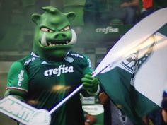 Novo mascote do Palmeiras