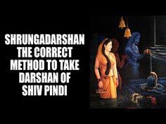 Shrungadarshan - The correct method to take darshan of Shiv Pindi - YouTube