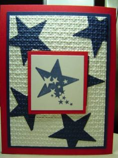 F4A121 July 4th Stars by crazysuziestamper - Cards and Paper Crafts at Splitcoaststampers