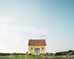 The Whimsical, Colorful 'Lonely Houses' of Portugal | Caldas Da Rainha, Portugal | Credit: sejkko | From Wired.com