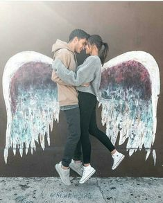 Love couple with wing - love images cute relationship goals, marriage goals, Relationship Goals Pictures, Couple Relationship, Cute Relationships, Cute Couple Pictures, Love Couple, Couple Fotos, Romantic Couple Poses, Romantic Pics, Gabriel Conte