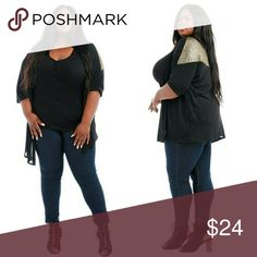 Plus size black and gold cardigan 1x 2x 3x Plus size black and gold cardigan 1x 2x 3x Sweaters Cardigans