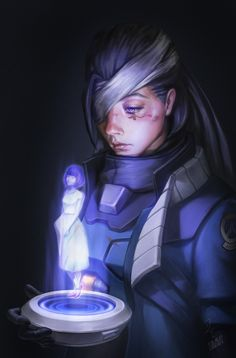 Ana Overwatch Fan Art, Chen Starry on ArtStation at https://www.artstation.com/artwork/oQVlq