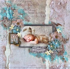 Peaceful - Blue Fern Studios 'Tranquility' collection. http://cathycafun.blogspot.com.au/2016/06/the-scrapbook-store-blue-fern.html