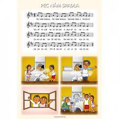 Nápadníček – písničky – ZŠ a MŠ Vír Crafts For Kids To Make, Kids Songs, Ukulele, Montessori, Piano, Exercise, Teaching, Education, Apps