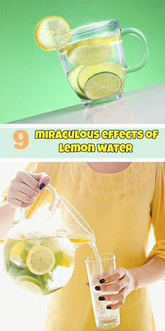 9 miraculous effects of lemon water - WeLoveBeauty.org