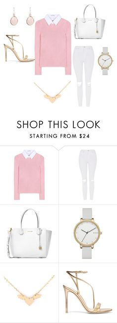 """Back To School"" by akvozeh on Polyvore featuring Altuzarra, Topshop, Michael Kors, Skagen and Gianvito Rossi"