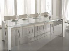 Tavolo Cristallo Allungabile Ikea.29 Fantastiche Immagini Su Tavolo Allungabile