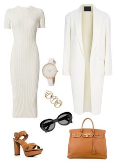 """""""Poised"""" by carotomboy ❤ liked on Polyvore featuring Helmut Lang, Marion Parke, Hermès, Alexander Wang and Acne Studios"""