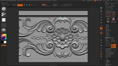 Hey, in this video, I'm showing how to achieve a wood carving texture panel in Maya/Zbrush:  - How to model the leaves and flower - Get a nice and clean mesh…