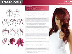 Beautiful Hair Color, Cool Hair Color, Hair Color Placement, Pravana Hair Color, Hair Color Formulas, Aveda Color, Hair Color Techniques, Diy Hair Care, Hair Color For Women