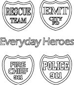 911 Coloring Pages  91101 Memorial Rememberance Coloring Page
