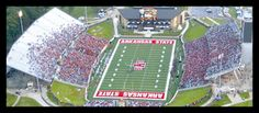 Arkansas State Red Wolves - Sun Belt Conference - College Football ...